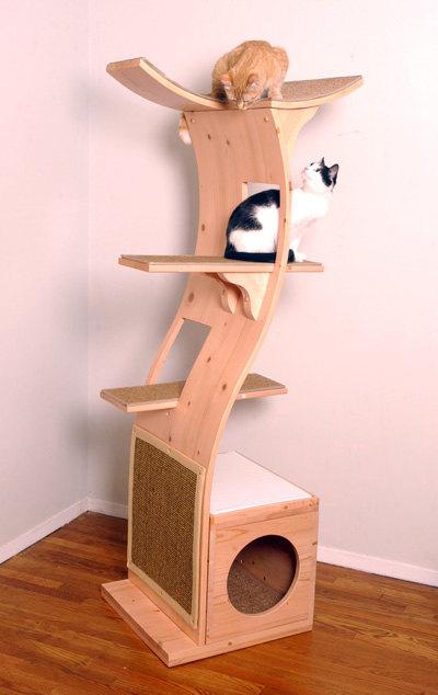 Мебель для кошек своими руками чертежи
