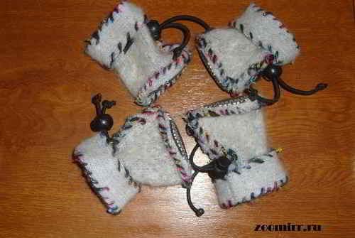 Обувь для собак своими руками  как сшить - статья 477d4e32d9b